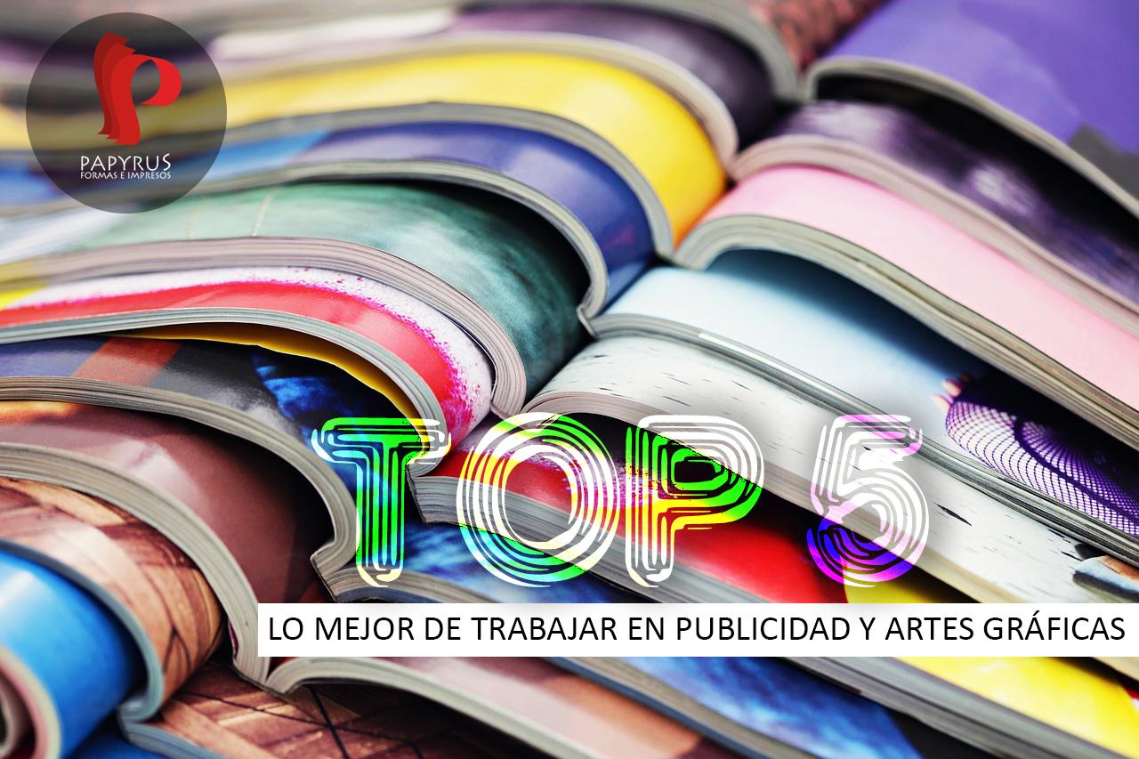 Top 5 Trabajar en publicidad y artes gráficas